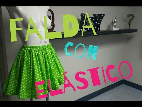 cc91d43e7 Falda Circular Alta Costura para NIÑOS clase # 75 - YouTube