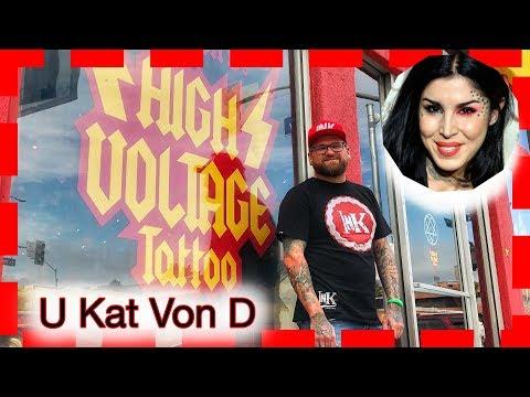 Kat Von D - High Voltage Tattoo Los Angeles