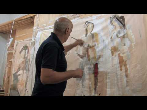 Inside Lebanon--Painter Chucrallah Fattouh
