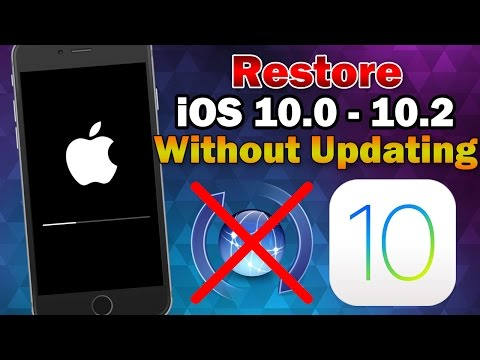 How To Restore Jailbroken IPhone / IPad / IPod Touch On IOS 10 To Factory Settings Without Updating