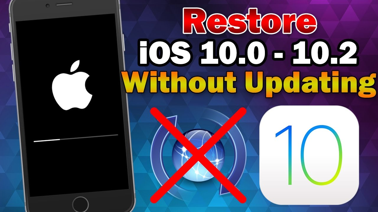 Restore ipod to factory settings without updating