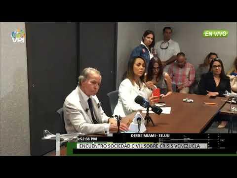 EE.UU - Sociedad civil realizó encuentro en Miami para debatir sobre la crisis en Venezuela - VPItv