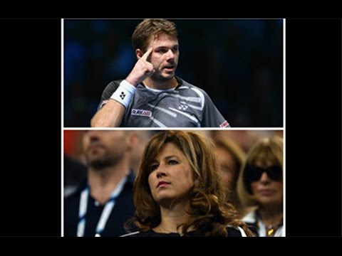 Mirka Insults Wawrinka – Federer Pegged by Father