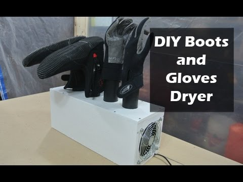 Diy Surfing Boots And Gloves Dryer Youtube