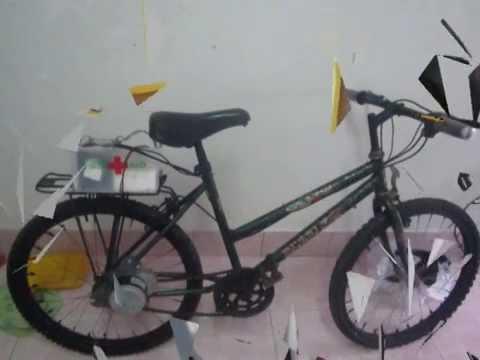 จักรยานไฟฟ้าด้วยDCBrushMotor(แก้ไข).mpg
