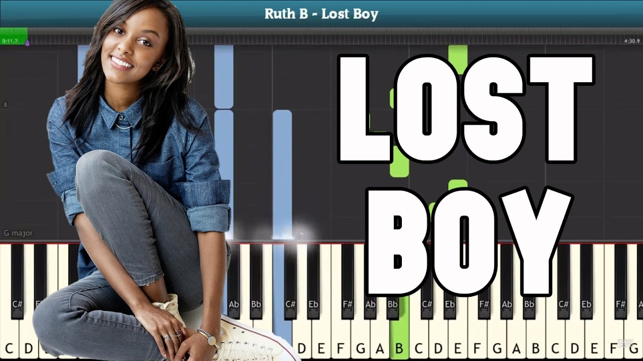 picture relating to Lost Boy Piano Sheet Music Free Printable called Misplaced Boy Piano Manual - Totally free Sheet New music (Ruth B)