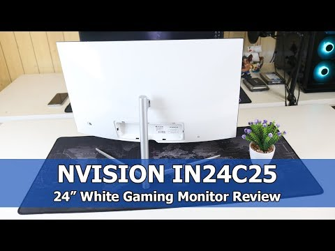 NVISION IN24C25 (White) Review - Best All-Rounder Gaming Monitor?