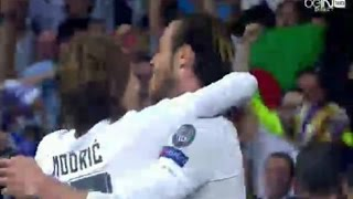 Real Madrid vs Man City 1-0 04/05/2016 Bale Goal  UEFA champions league