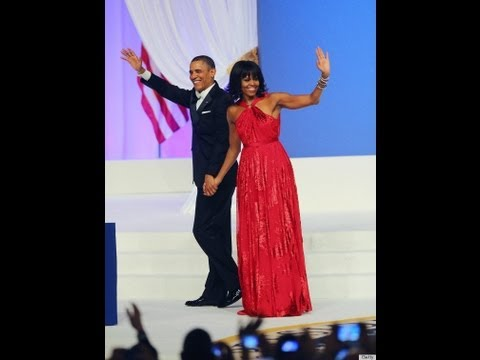 President Obama And Michelle Dances At Inaugural Ball To Jennifer Hudson's 'Let's Stay Together'