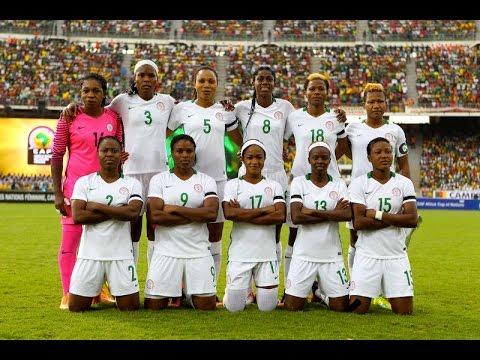 Nigeria vs Cameroon [First Half] (2016 AWCON Final)