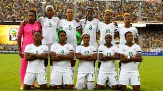 Nigeria vs Cameroon [First Half] (2016 AWCON Final)