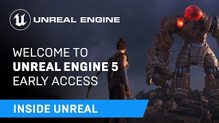 Welcome To Unreal Engine 5 Early Access   Inside Unreal