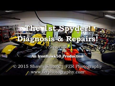 The 1st Spyder! - Diagnosis & Repairs! | ShopTalk