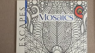 ESCAPES Mosaics Coloring Book Adult Col 2 Years Ago