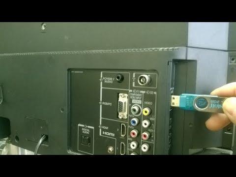 ซ่อม LED TV Toshiba เปิดไม่ได้ไฟสแตนบายติดค้าง[ Update firmware usb]