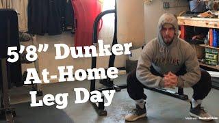 "5'8"" Dunker At Home Vertical Jump Workout"