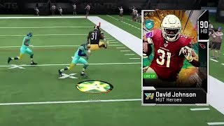 90 OVR DAVID JOHNSON LEAPS OVER TALL BUILDINGS! - LEAP FROG EQUIPPED IN MADDEN 20 ULTIMATE TEAM