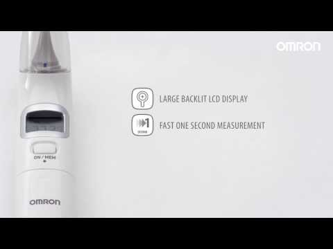 Omron Gentle Temp 520 & 521 Digital Ear Thermometer