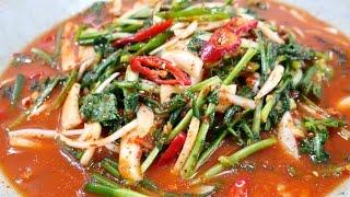 열무물김치 ( young radish Watery kimchi )