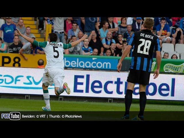 2013-2014 - Europa League - 02. 3de Voorronde - Club Brugge - Slask Wroclaw 3-3