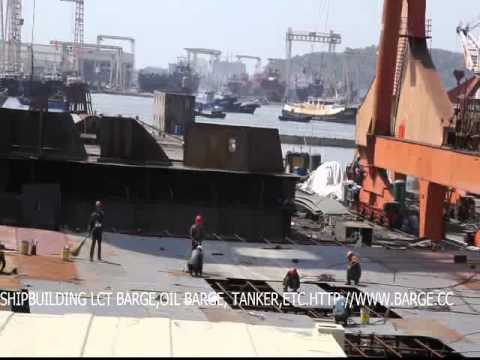 shipyard shipbuilding of vessel( tanker and LCT barge carrier)
