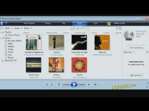How to Create an Audio CD For Dummies