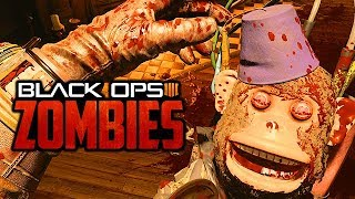 CALL OF DUTY BLACK OPS 4 Zombie Mode Gameplay - Super Waffen