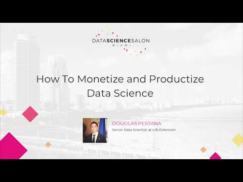 Douglas Pestana - Data Science Salon Miami