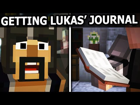 Minecraft Story Mode Episode 8 - GET LUKAS' JOURNAL & BE NICE TO SLAB