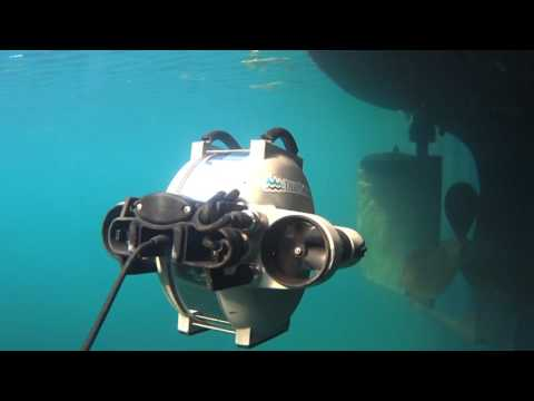 Underwater Drone Used for Hull Inspection