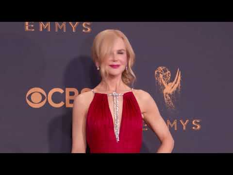 Nicole Kidman: Emmy Awards 2017 Red Carpet Arrivals Fashion