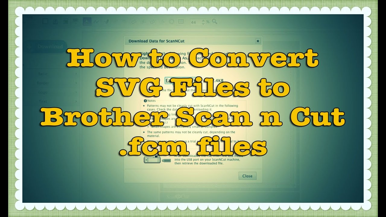 Download How to Convert SVG files to Brother Scan n Cut (.fcm ...