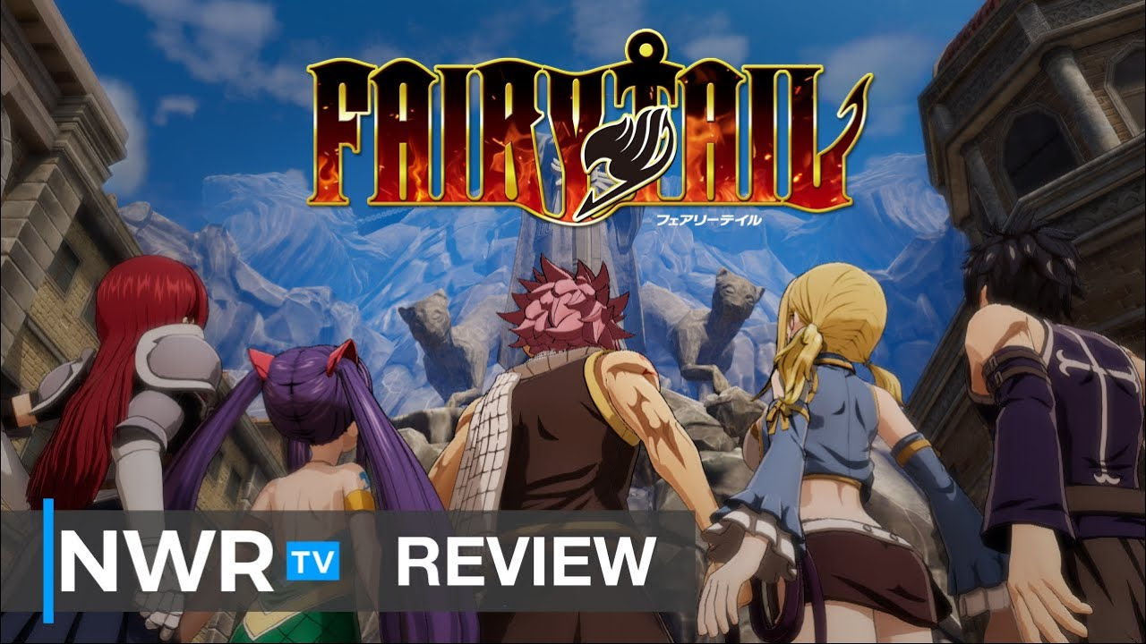 FAIRY TAIL (Switch) Review - A Chiseled and Well-Endowed RPG (Video Game Video Review)