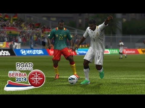 Ghana Vs. Cameroon | Road To World Cup Serbia 2014 | FIFA 13