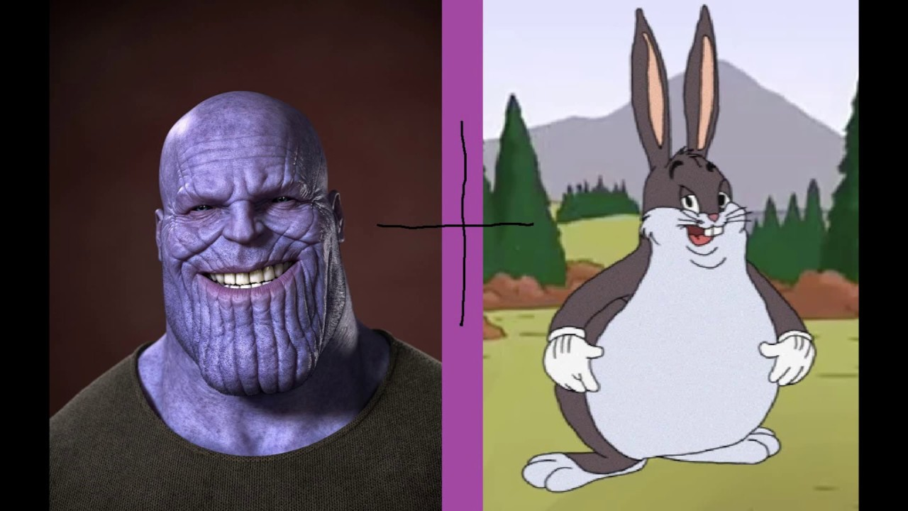 Thanos Big Chungus Meme Youtube