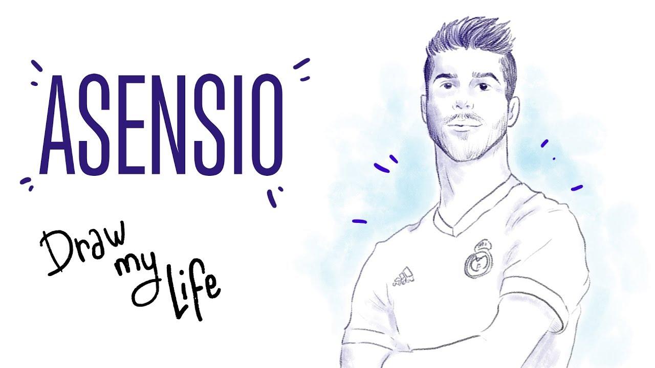 Los Orígenes De Marco Asensio Draw My Life Youtube