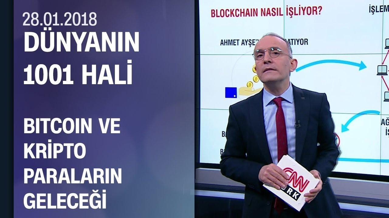 Emin Çapa, Bitcoin ve kripto paraların geleceğini anlattı - Dünya'nın 1001 Hali 28.01.2018 Paza