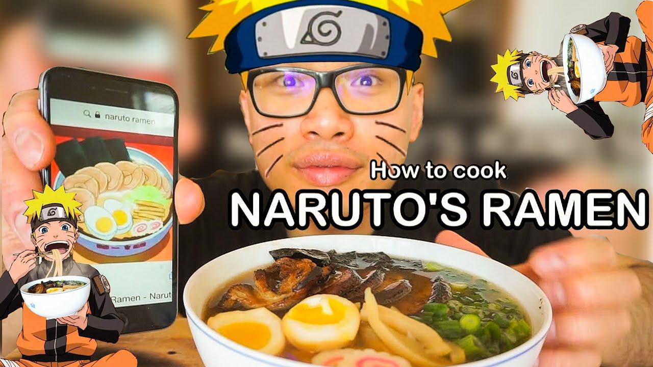 How to cook NARUTO ICHIRAKU RAMEN