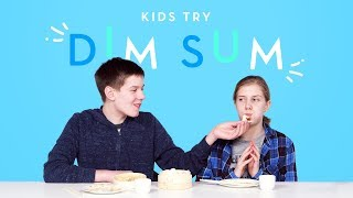 Kids Try Dim Sum | Kids Try | HiHo Kids