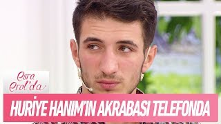 Huriye Hanım'ın akrabası telefon hattında - Esra Erol'da 10 Ekim 2018