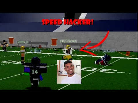 SPEED HACKER JOINS THE SERVER! | Football Fusion Funny Moments #2