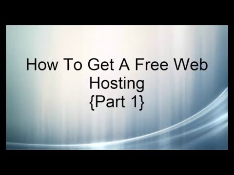 How To Get A free Web Hosting Using C-Panel Part 1