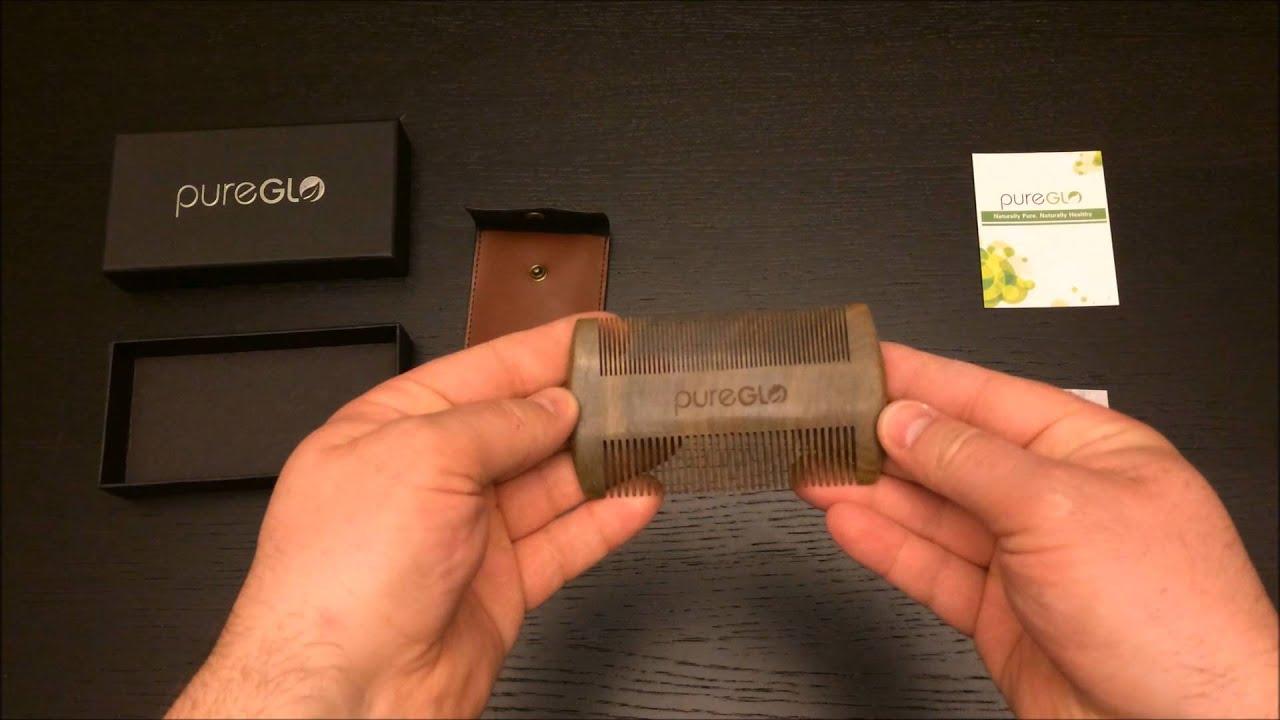 Beard, Mustache & Hair Handmade Green Sandalwood Comb Review