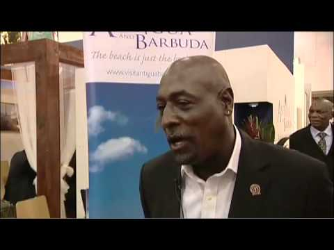 Viv Richards, Ambassador at Large, Antigua & Barbuda @ WTM 2010