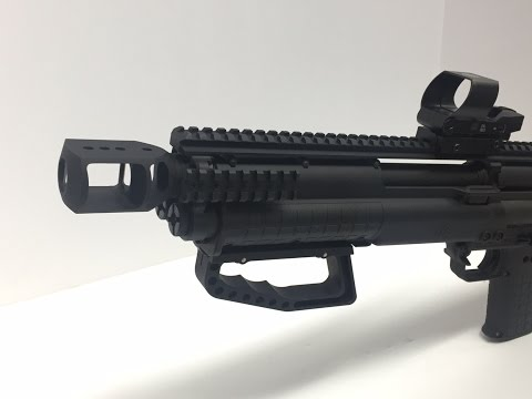 Kel-Tec KSG Hand Safety Options. How not to lose any fingers by Hi-Tech Custom Concepts.