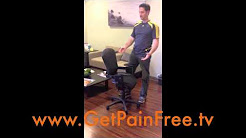 The Best Office Chair for Left or Right Side Lower Back Pain