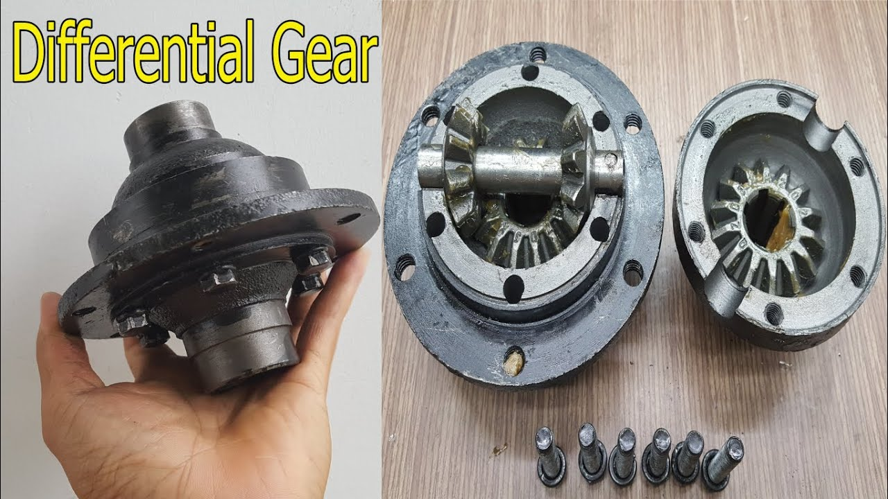 Differential Gear (Unboxing-Project diy car)