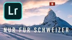 Nur für Schweizer! Lightroom Classic CC Tastaturlayout-Fix (Mac/Windows)