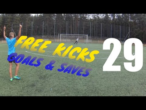 "JB.footballers – RZUTY WOLNE / FREE KICK GOALS AND SAVES 29 – ""Free kicks like Cristiano Ronaldo"""