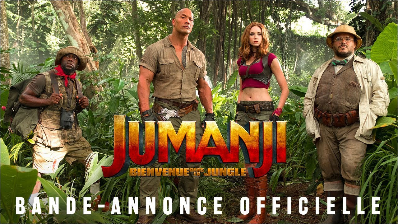 Jumanji : Bienvenue dans la Jungle - Bande-annonce 2 - VOST